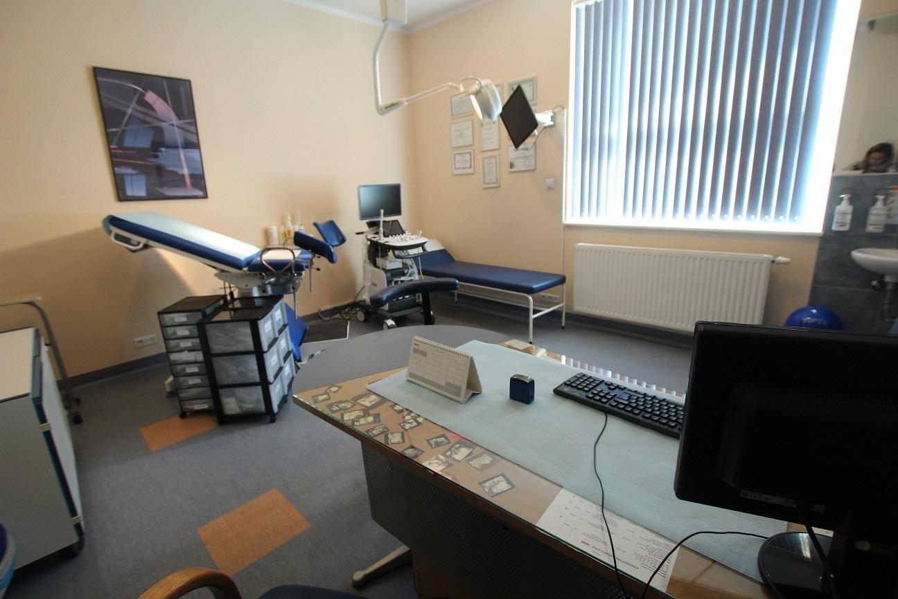 klinika promienista gabinety